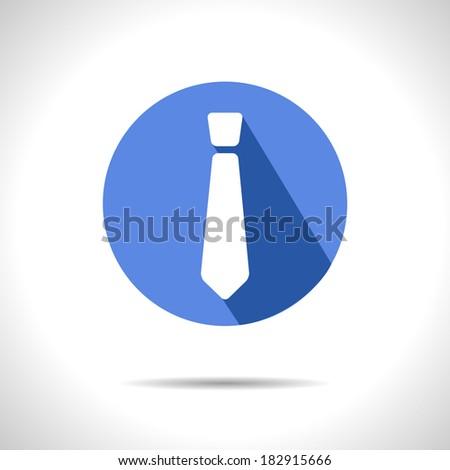 Vector tie icon. Eps10 - stock vector