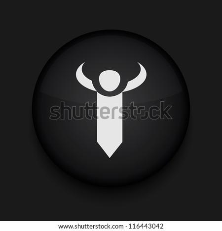 Vector tie icon. Eps10. Easy to edit - stock vector