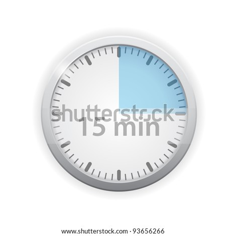 vector timer icon - stock vector