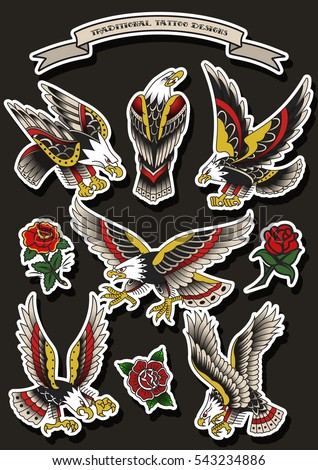 Vulture Tattoo Stock Images, Royalty-Free Images & Vectors ...