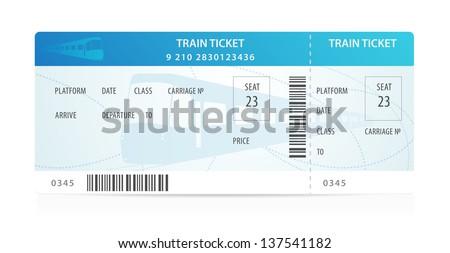 Train Tickets Images RoyaltyFree Images Vectors – Bus Pass Template