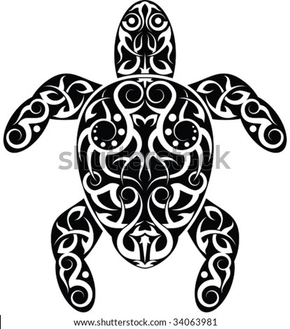 Turtle Tattoo Stock Photos Images Amp Pictures Shutterstock