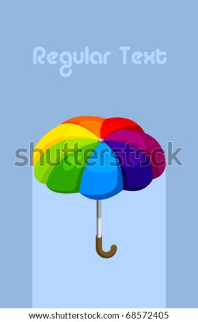Vector Umbrella - stock vector