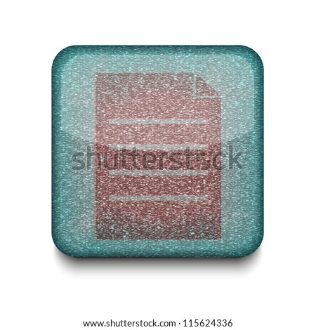 Vector version. Page icon. Eps 10 illustration. Easy to edit - stock vector