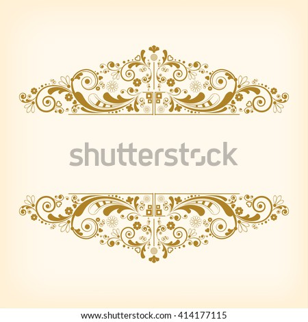 Stock Vector - Vintage Floral Backgrounds