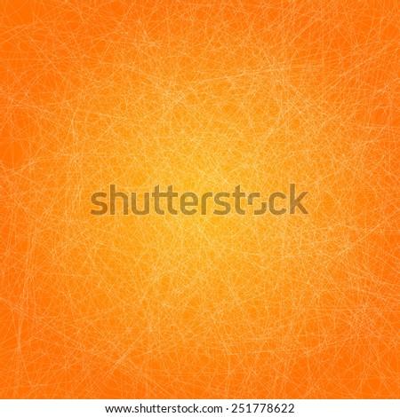 Vector Vintage orange grunge texture paper  background - stock vector