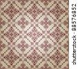 vector  vintage seamless pattern - stock vector