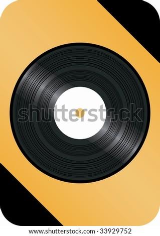 vector vinyl - stock vector