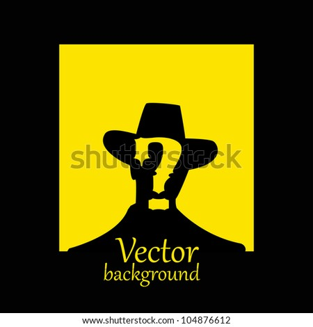 vector wanted poster image - vector illustration - stock vector