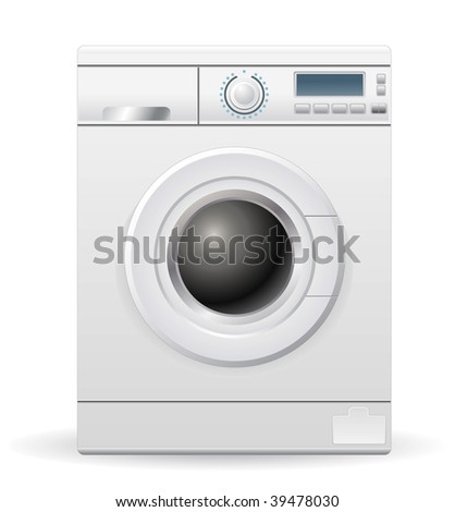 vector washing machine