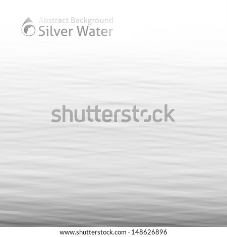 vector water background with drop icon - stock vector