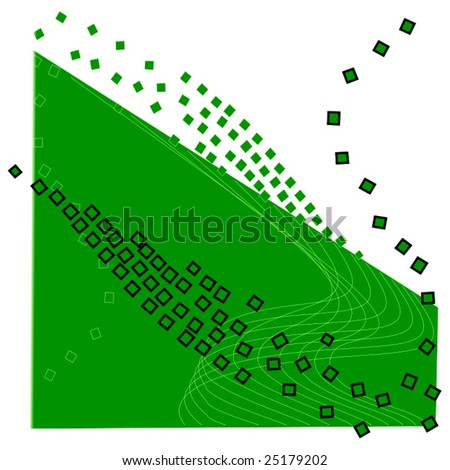 Vector Wave Abstract