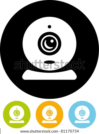 Vector webcam icon