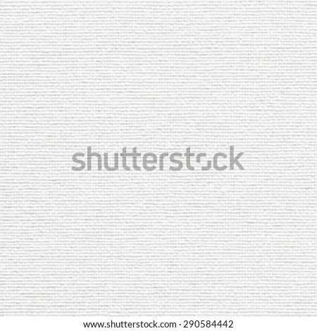 Vector white canvas texture - stock vector