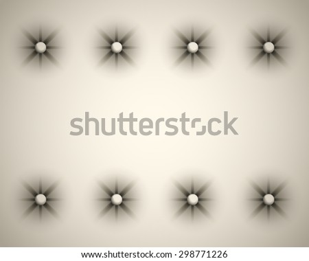 Vector White Texture of the Skin of the Door Upholstery - stock vector