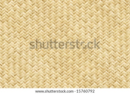 Vector Wicker Placemat, See Jpeg Also In My Portfolio - stock vector