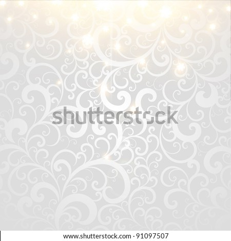 Vector winter Background - stock vector