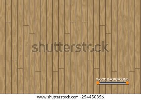 Vector wood floor Background - stock vector