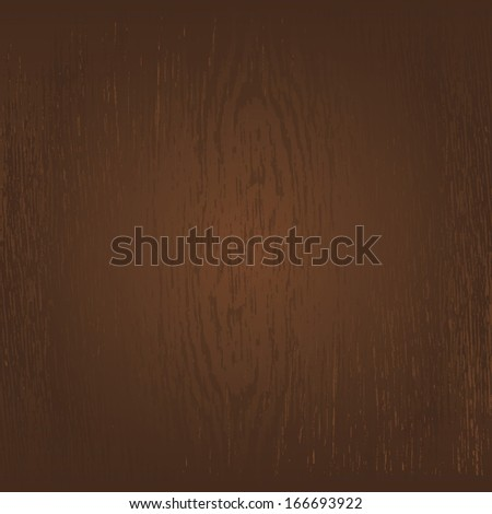 Vector wooden background and place for your design - stock vector
