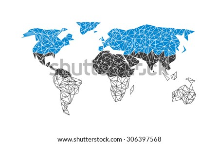 Vector world map flag estonia stock vector 306397568 shutterstock vector world map with flag of estonia gumiabroncs Images