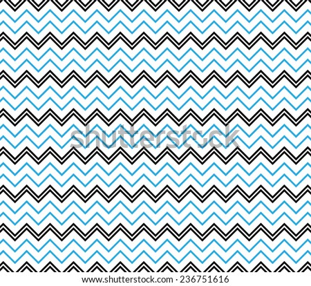 Vector zigzag chevron pattern background - stock vector
