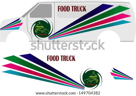 Car Decals Stock Images RoyaltyFree Images Vectors Shutterstock - Truck decal graphicstruck and vehicle decal graphic design stock vector image