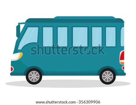 Vehicles and transport graphic design, vector illustration eps10