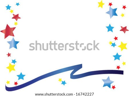 versatile star design great for documents and patriotic designs