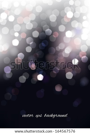 Vertical blurred background with graphic elements. Vector version. - stock vector