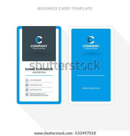Double sided business card template photoshop mandegarfo double sided business card template photoshop flashek Images