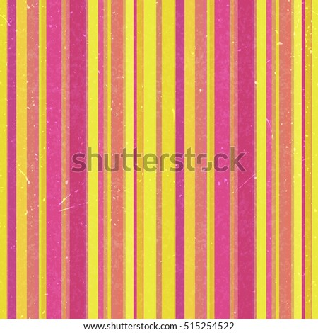 Vertical stripes pattern, seamless texture background. Ideal for printing onto fabric and paper or decoration. Yellow, pink colors