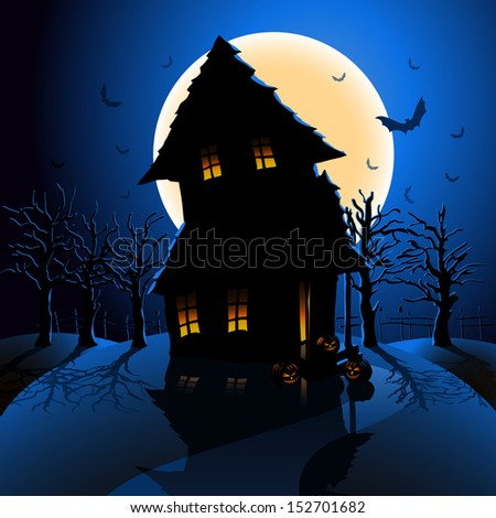 Very nice halloween vector backgrounds.You can use this background to improve your flyer, magazine, banner, e-flyer about halloween holiday. This illustration is easy editable.