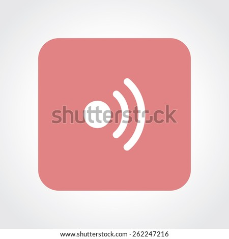 Very Useful Flat Icon of Wi-Fi. Eps-10. - stock vector