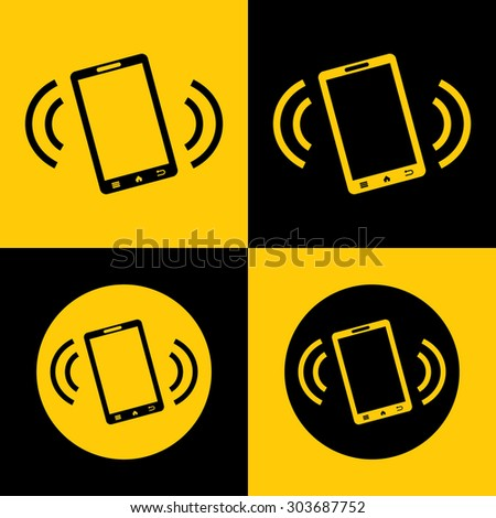 Very Useful Icon Of Mobile Phone. Eps-10 - stock vector
