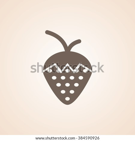 Very Useful Icon of Strawberry for Web & Mobile. Eps-10.