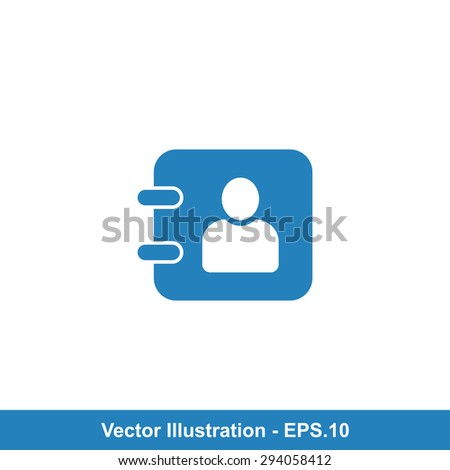Very Useful Vector Icon Of Diary. Eps-10. - stock vector