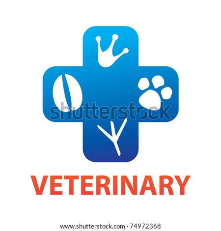 veterinary - stock vector