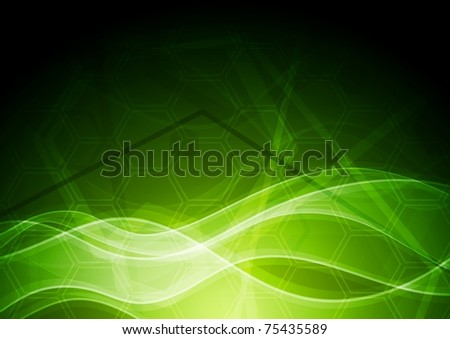 Vibrant abstract background with tech texture. Eps 10 vector - stock vector
