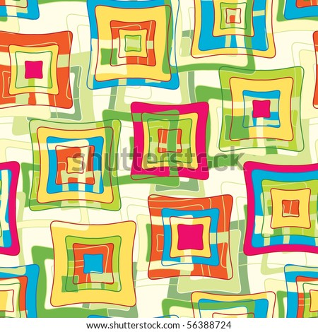 vibrant color abstract geometrical pattern