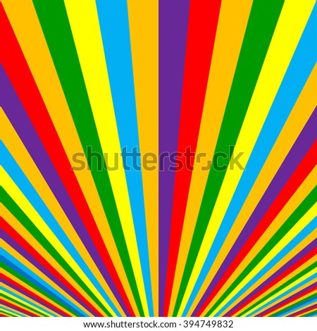 Vibrant colorful striped background.