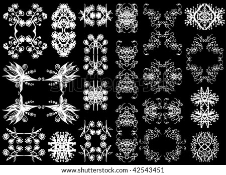 Victorian Design Elements victorian design elements stock vector 42543451 - shutterstock