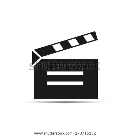 video board - stock vector