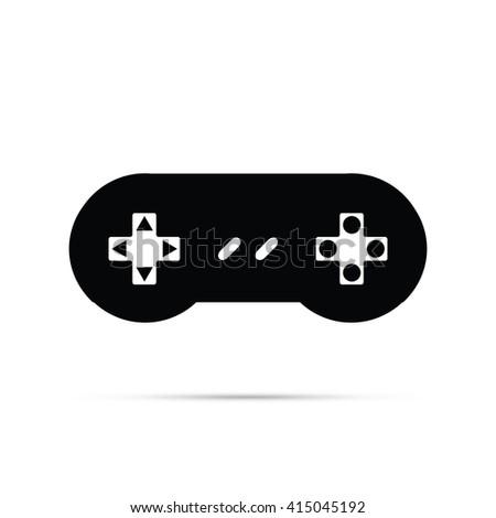 Video Game Icon - stock vector