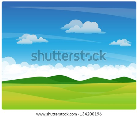 view - stock vector
