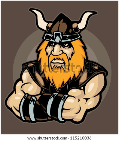 Viking - stock vector