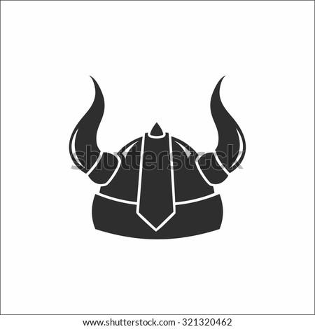 Viking Helmet Stock Vector 321320462 - Shutterstock