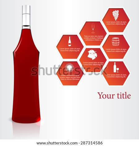 vine vector illustration - stock vector