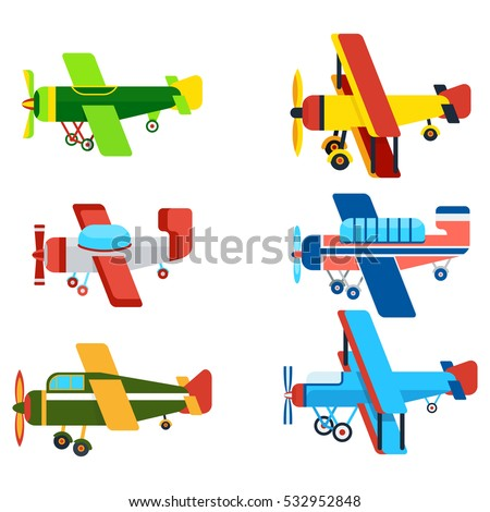 vintage airplanes cartoon models retro motor stock vector old fashioned airplane clipart old fashioned airplane clipart