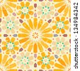 Vintage arabic seamless pattern - stock vector