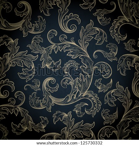 vintage background, eps 10, contains transparency objects , also you can use background ornament and grunge as seamless pattern ,all elements are located on separate layers and available to editing - stock vector